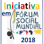 Logotipo do Grupo wsf2018 with initiatives